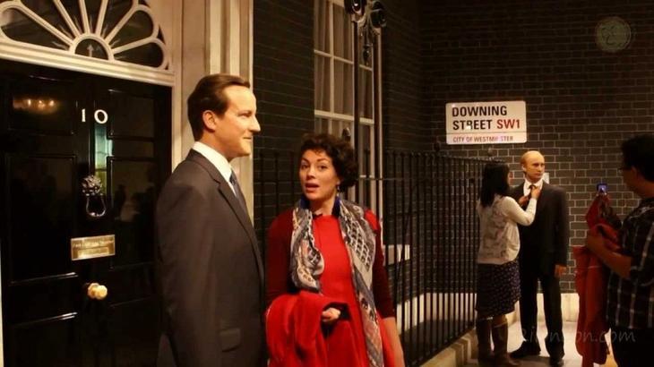 Музей Мадам Тюссо. 10 Чудес Лондона. Фотографии красивых мест Лондона. Фото с сайта NewPix.ru