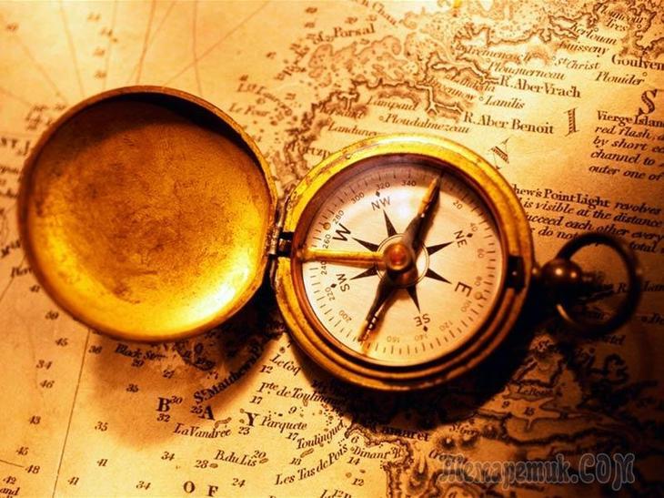 Кто первый изобрл компас