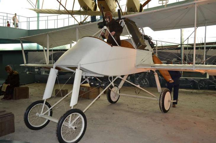 Один из лучших разведчиков и бомбардировщиков начального периода I мировой войны – французский биплан Вуазен LAS