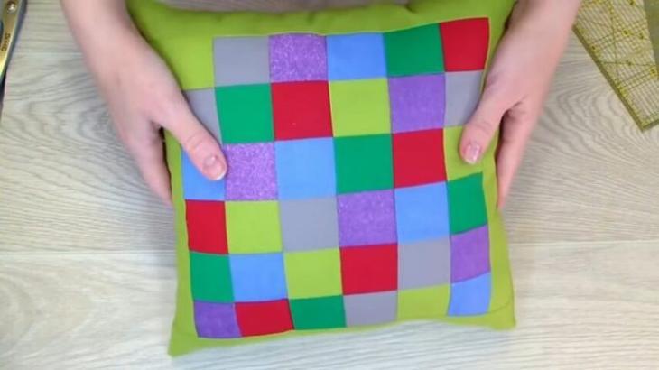 Простая техника сшивания «Пиксели»