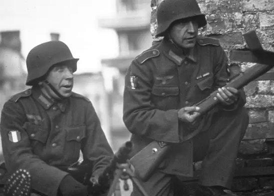 А теперь посчитаем сколько французов погибло за Гитлера, а сколько - против