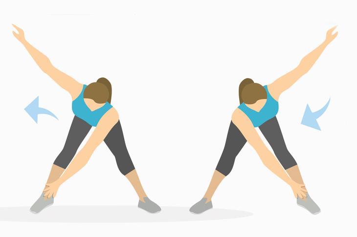 Упражнения для рук — мельница