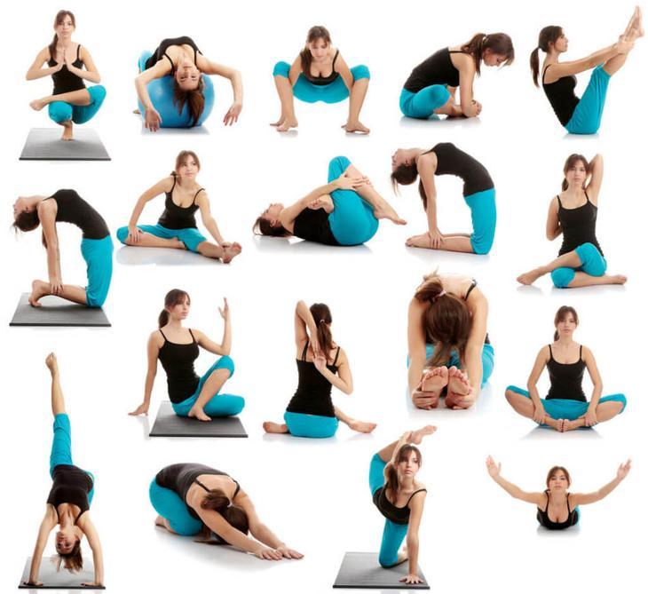 Пример упражнений для растяжки