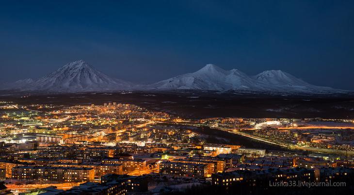«Домашние вулканы»: Корякский, Авачинский и Козельский соответственно