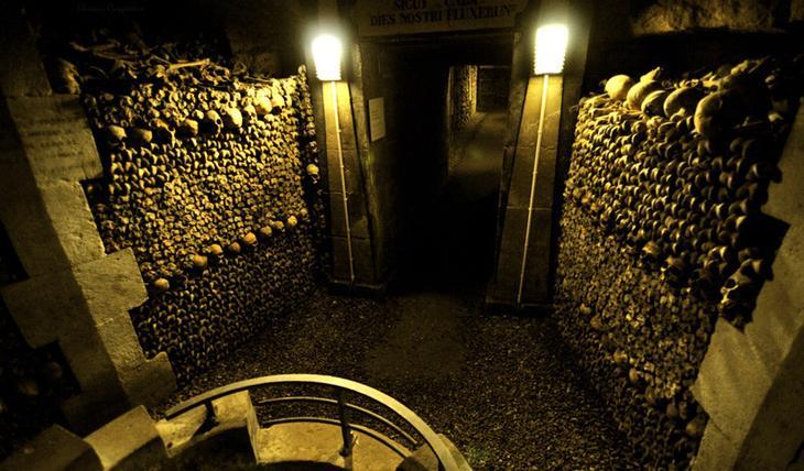 Парижские катакомбы история, лабиринт, факты, фото