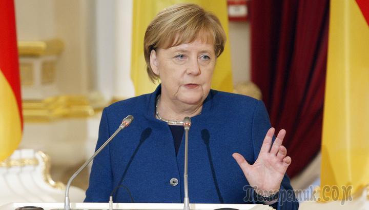 Ангела Меркель удивила принципами Марию Захарову