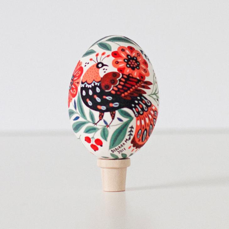 Пасхальные яйца фольклорные мотивы от художницы из Узбекистана Динары Мирталиповой, фото № 32