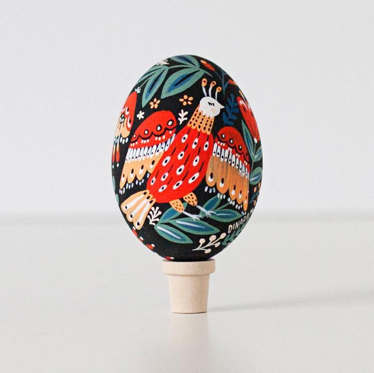 Пасхальные яйца фольклорные мотивы от художницы из Узбекистана Динары Мирталиповой, фото № 31