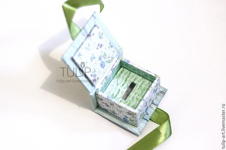 Мастер-класс: как создать подарочную коробочку для кольца, фото № 21