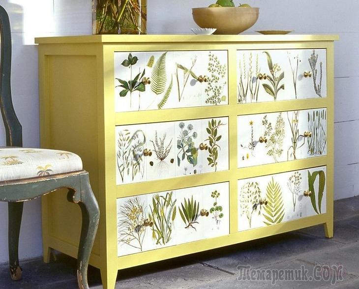 fullsize Декупаж мебели салфетками своими руками – способы, мастер-классы