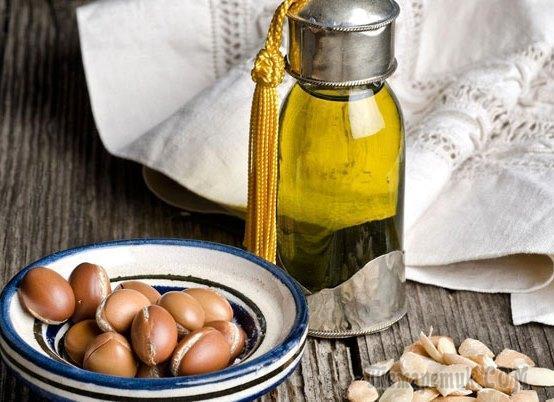 Аргановое масло для волос эффект