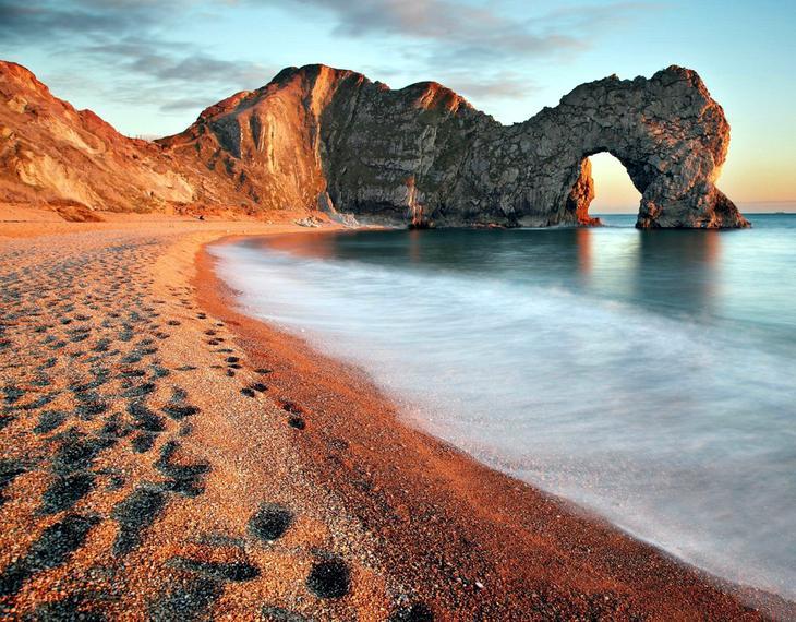 Арка ДердлДор Великобритания. Создано самой природой. Невероятные природные арки. Фото с сайта NewPix.ru