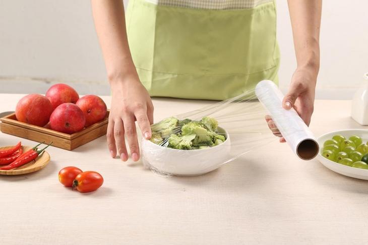 Оригинальные применения обычной пищевой плёнки