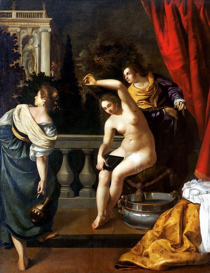 «Купание Вирсавии» (1640-1645)