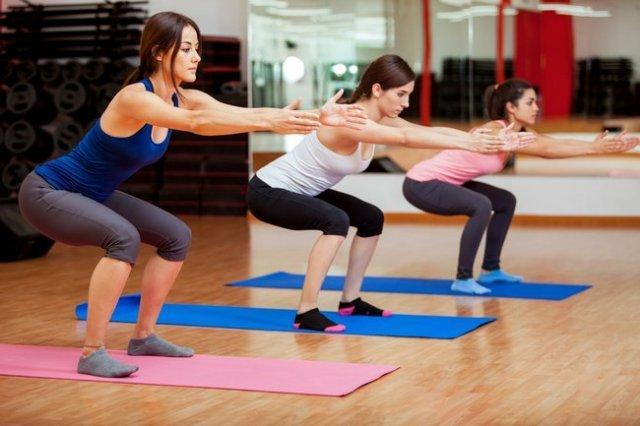 Как правильно приседать чтобы похудеть
