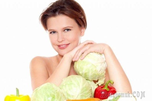 Капустная диета на 7 дней для похудения на 10 кг
