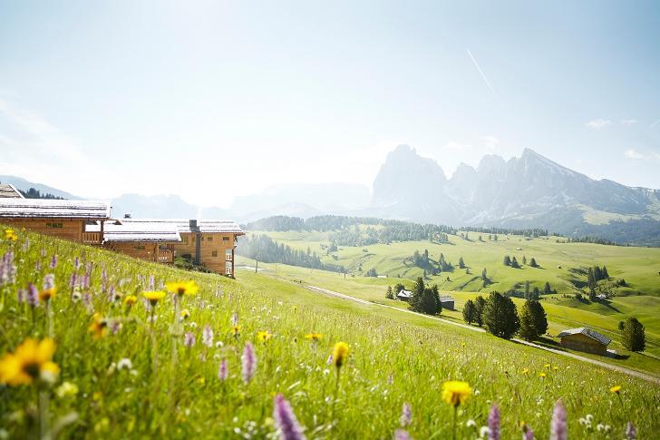 Уединенный отель в Доломитовых Альпах